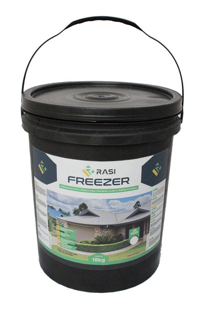 RASI FREEZER - Revestimento térmico para telhados, lajes e paredes externas
