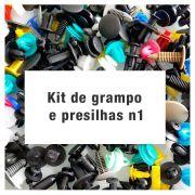 Kit de grampo e presilhas n1