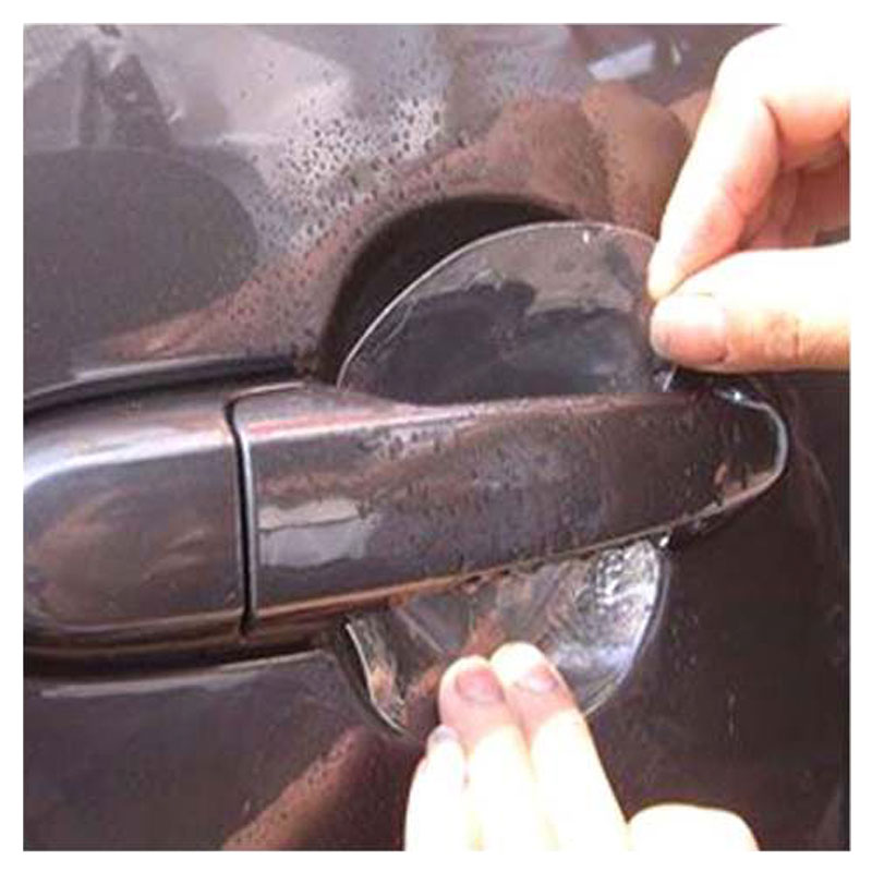 Adesivo Transparente para Proteção de Maçaneta de Carro