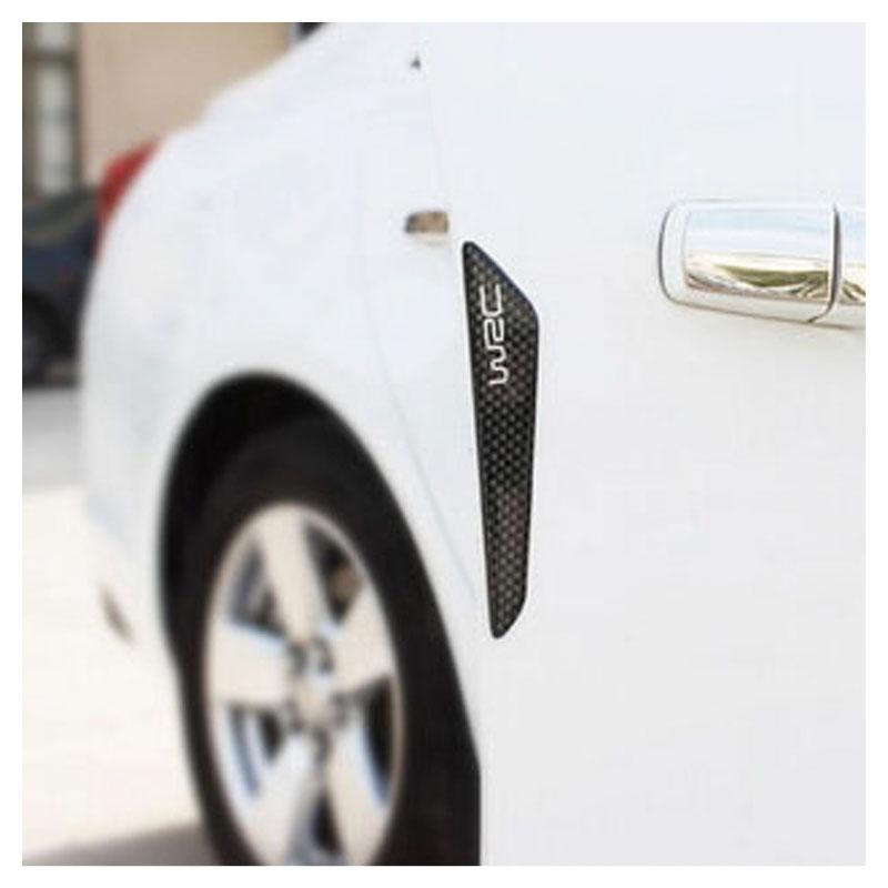 Friso Adesivo Protetor de Porta Carro Fibra de Carbono