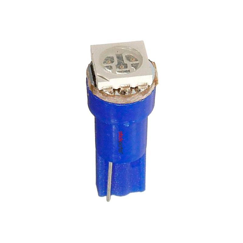 Lâmpada Led T5 Smd 5050 Azul