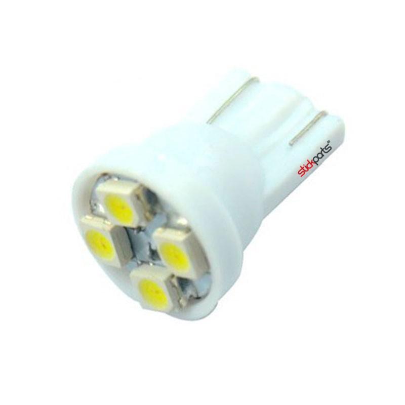Lâmpada Pingo T10 W5w 4 Leds Smd 3528 Branco