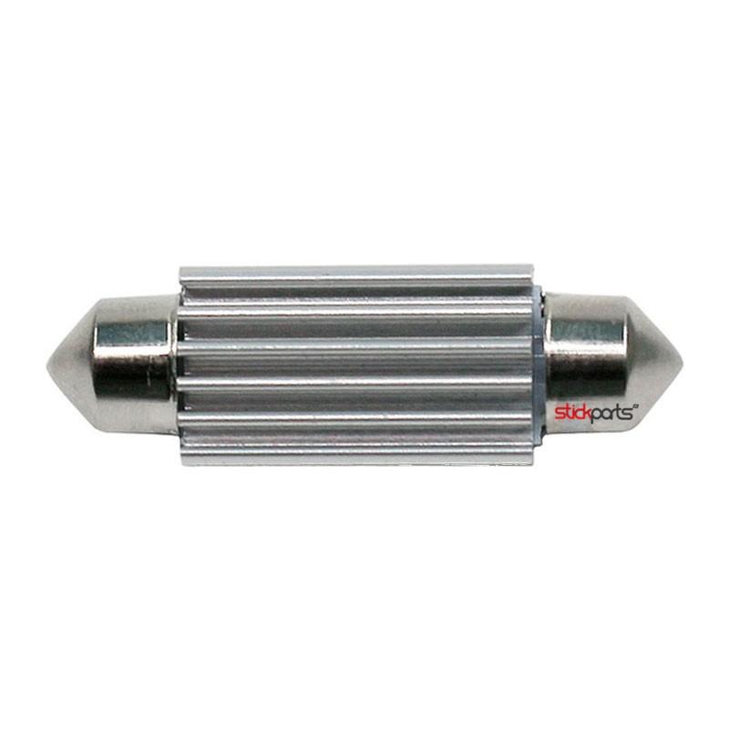 Lâmpada Torpedo 39mm 9 Leds Smd 5630 Branco Canbus