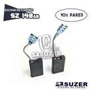 Escova de Carvão Martelo Bosch 11316 - GSH 11E - SZ148AB (10 PARES)