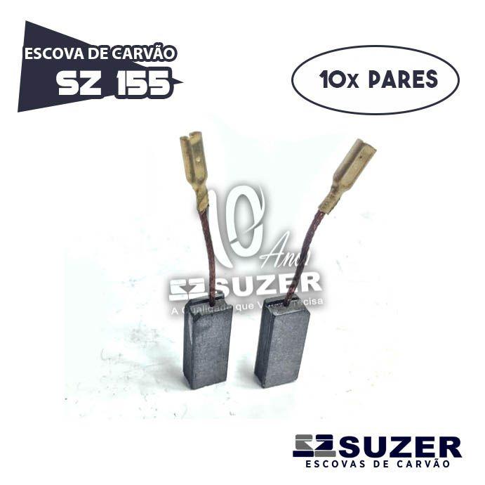 Escova de Carvão Martelo 1228/11210 GBH 2-24 - SZ 155 (10 PARES)