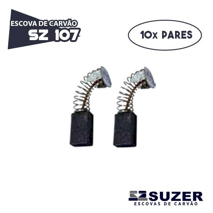 Escova de Carvão Serra Mármore Bosch  SZ 107 - 1551.0 (10 PARES)
