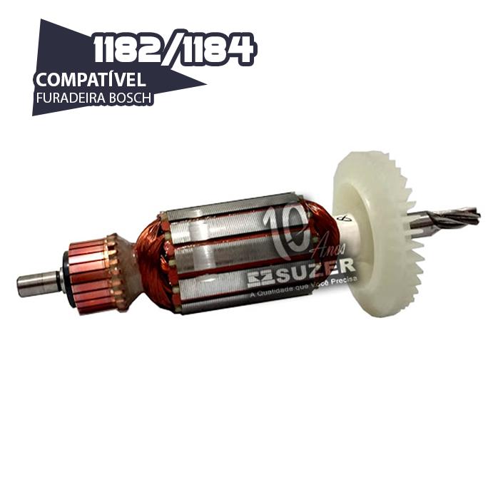 Induzido para Furadeira Bosch 1182/1184 GBH 20-2
