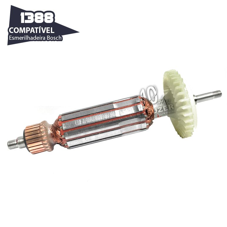 Induzido Para Esmerilhadeira 4/5 Bosch 1388 Gws-7-115 et