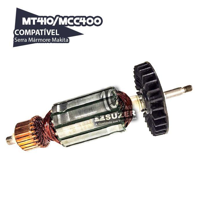 Induzido para Serra Mármore Makita MT410/MCC400