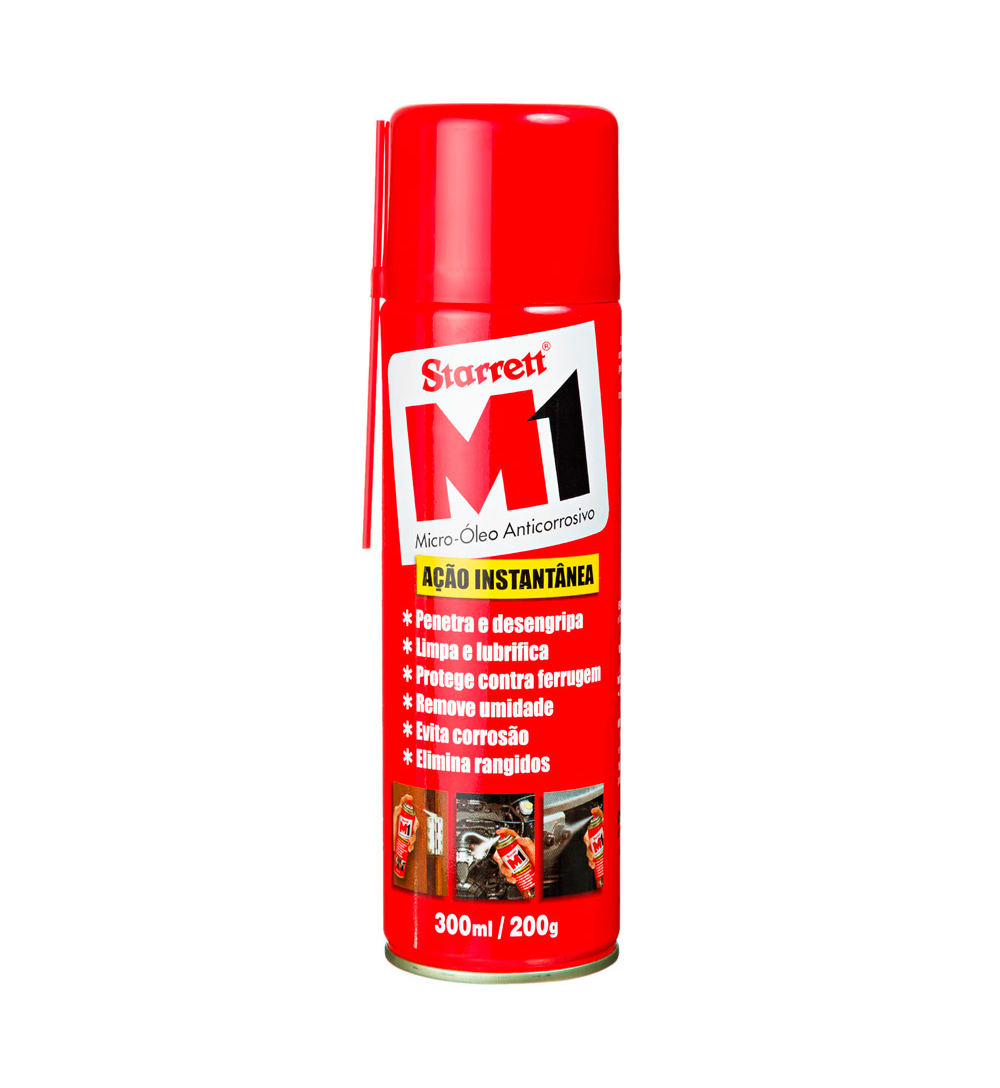 OLEO M1 STARRET ANTICORROSIVO LATA COM 300ml SPRAY