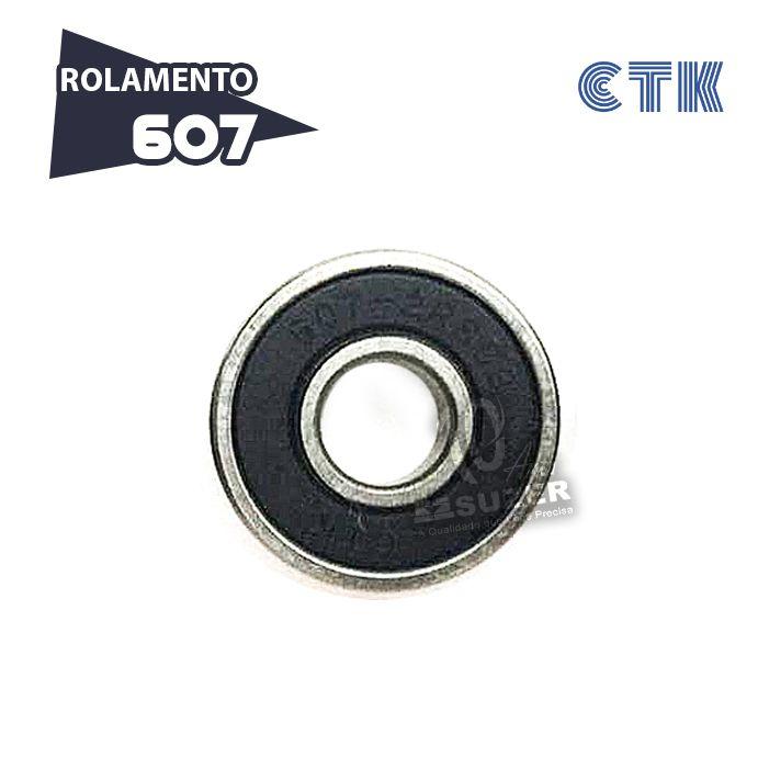 Rolamento 607 C3 - CTK