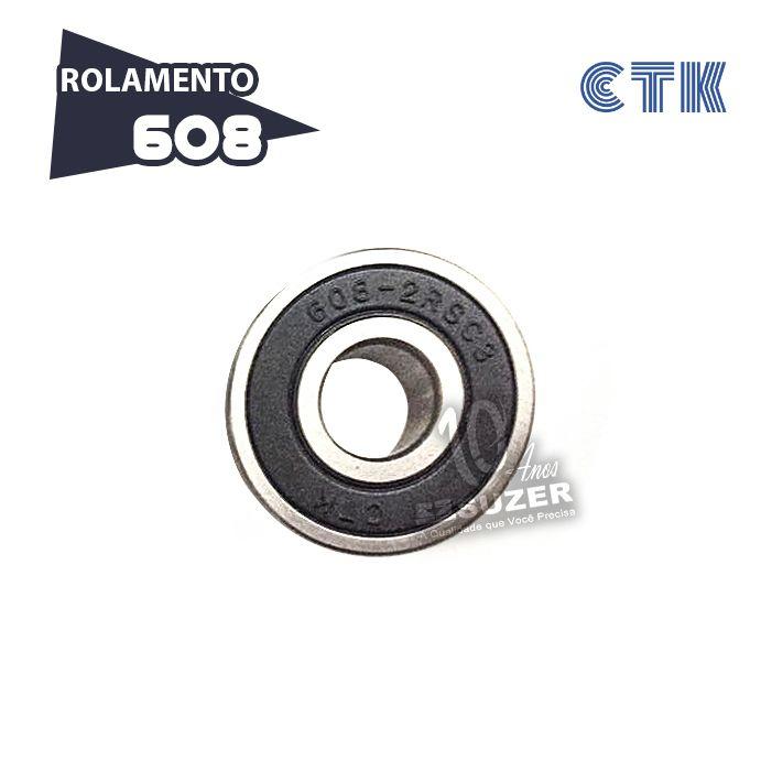Rolamento 608 C3 - CTK