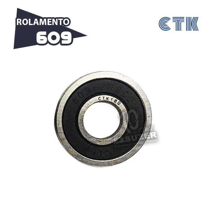 Rolamento 609 C3 - CTK