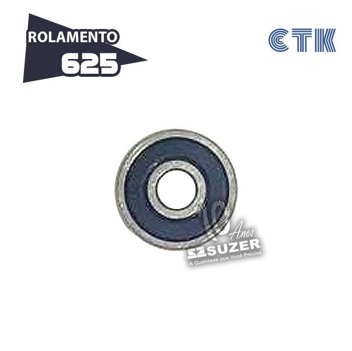 Rolamento 625 C3 - CTK