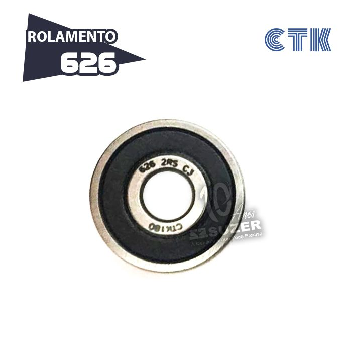 Rolamento 626 C3 - CTK