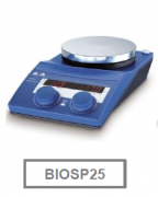 AGITADOR MAGNÉTICO DIGITAL SEM AQUECIMENTO, 10L (H2O), METAL RECOBERTO DE SILICONE, 154 mm x 163 mm, BIVOLT - MODELO BIOSP25