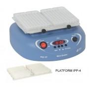 AGITADOR PARA 2 MICROPLACAS (ELISA) COM VELOCIDADE VARIÁVEL DE 150 A 1200 RPM, OPERAÇÃO CONTÍNUA (NON-STOP) POR ATÉ 7 DIAS