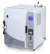 Autoclave horizontal de bancada modelo AB-25 e AB-42. Equipamento moderno utilizado para esterilização e secagem de materiais e utensílios diversos.