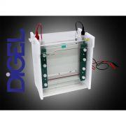 Cuba 20x20 para Eletroforese Vertical
