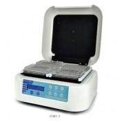 INCUBADORA COM AGITAÇÃO PARA 4 MICROPLACAS TIPO ELISA PCR OU CULTURA CELULAR, TEMPERATURA 70°C