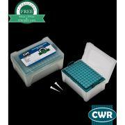 Ponteira universal, 0.5-10µl, com filtro, estéril, natural, graduada, livre DNAse/RNAse, rack com 96 peças