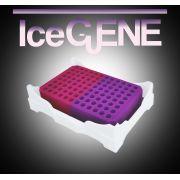 Rack Isofreeze PCR C/ Mudança de Cor, P/Microtubos de PCR