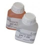 SOLUÇÃO PADRÃO (TAMPÃO) DE pH 4, 7, OU 10.00 pH, TEMPERATURA REFERENCIA 25ºC, PARA CALIBRAR ELETRODOS DE pH e pH METROS.