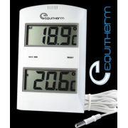 Termômetro Digital Máxima/Mínima, Com Sensor de Temperatura - TM-882