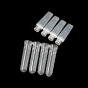 TIRAS DE TUBOS DE 0,1 ML COM TAMPA PARA USO COM ROTOR-GENE Q®