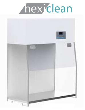 Cabine de PCR (Workstation PCR), Classe ISO 5, Com Luz Branca E UV, Filtro HEPA