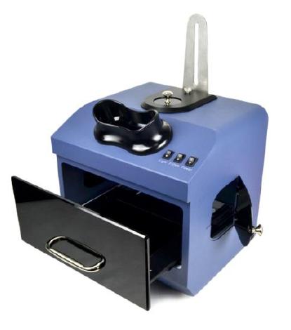Câmara escura para análise UV, duplo comprimento de onda 254/365nm com transiluminador embutido 312nm - Modelo BIOBTU6