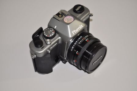 CÂMERA FOTOGRÁFICA MANUAL 35 MM SLR 50MM/1.7 LENS PHENIX