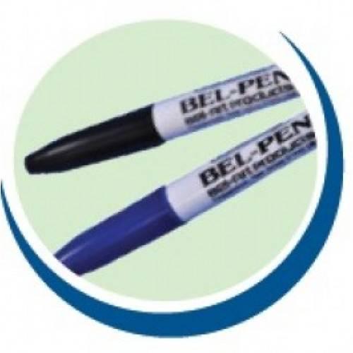 Caneta Marcadora em Plástico e Vidro, Cor Preta – Modelo: F13374-0000