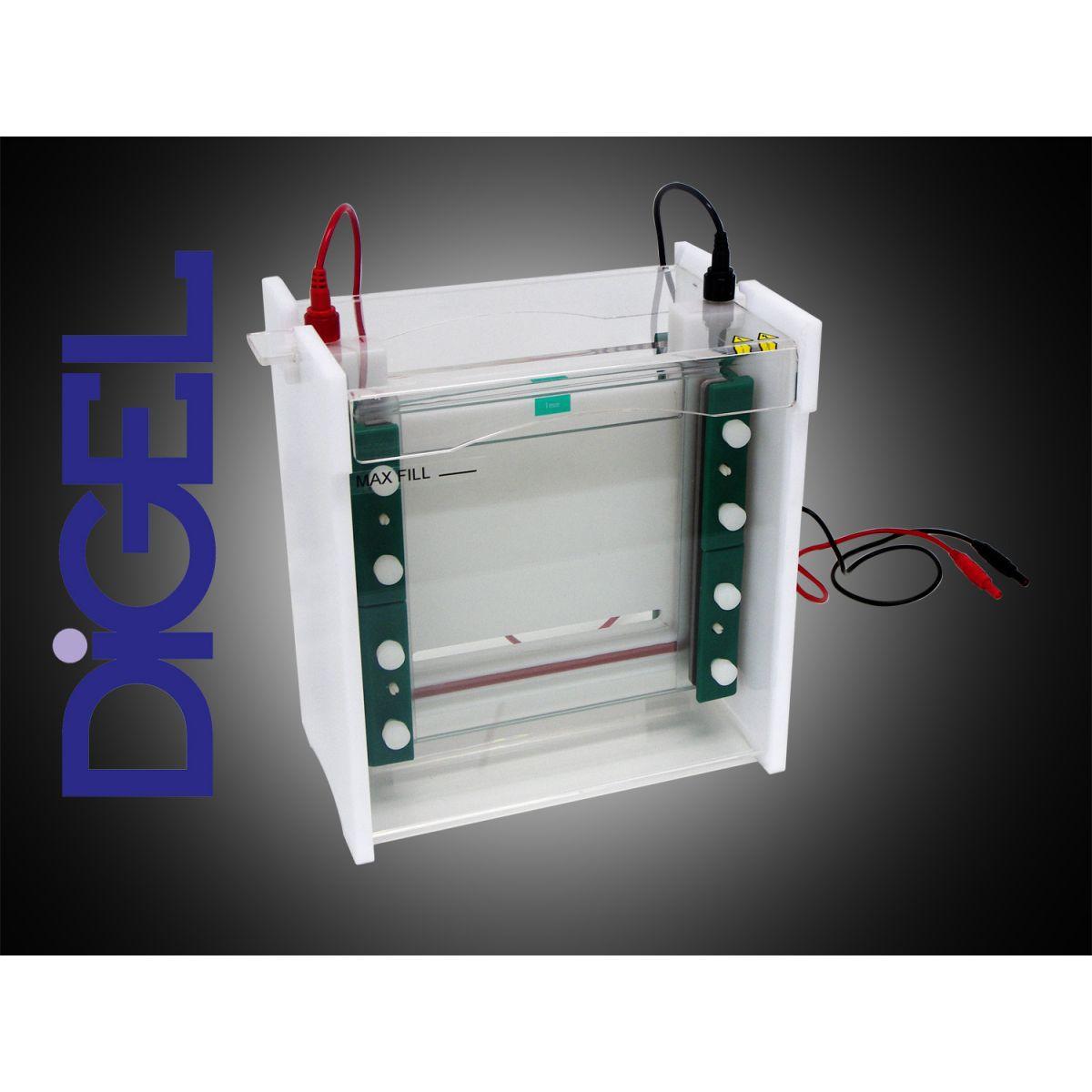 Cuba 20x20 para Eletroforese Vertical - Modelo: DGV-20