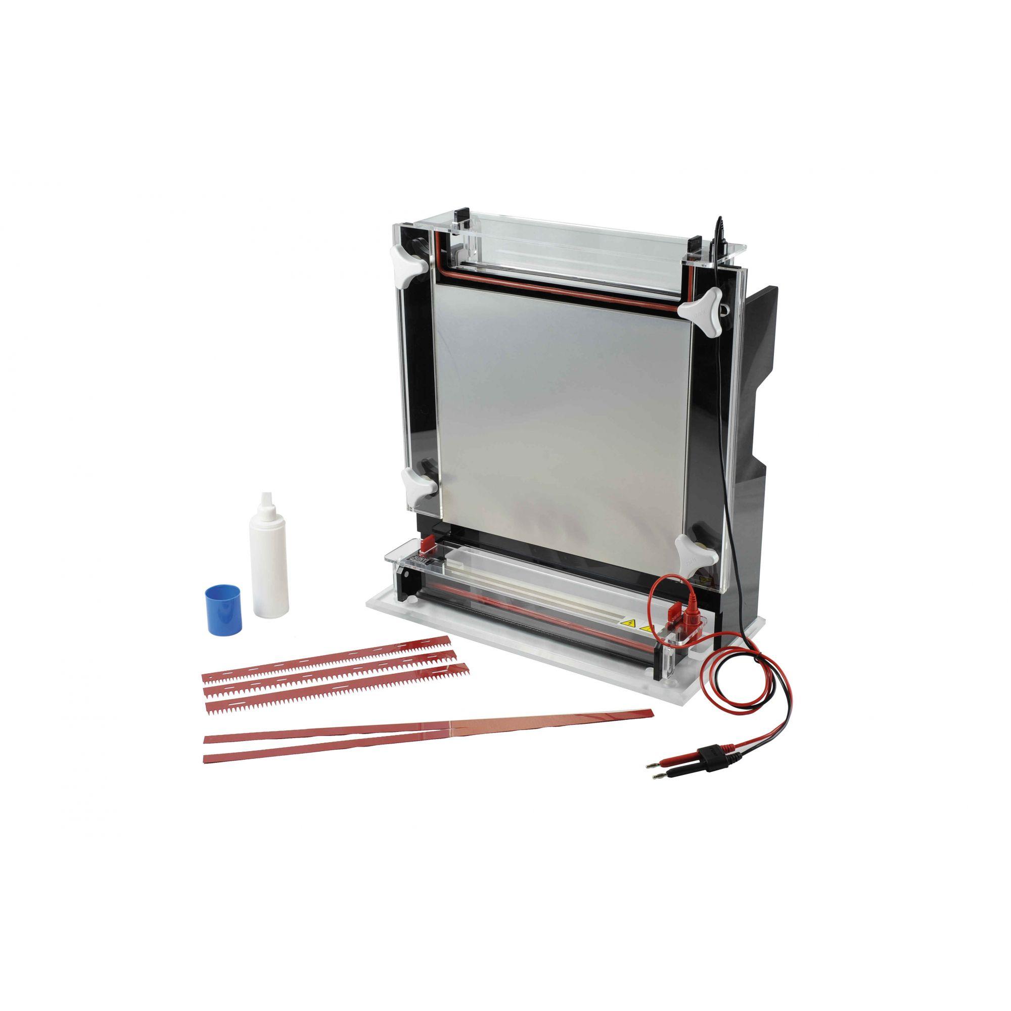 Cuba Para Eletroforese Por Sequenciamento 35X45cm - Modelo: DG-SEQUENCY