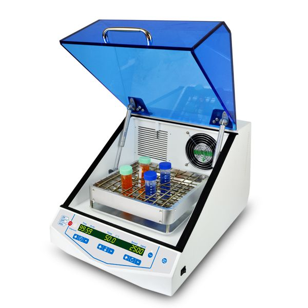 INCUBADORA DE BANCADA REFRIGERADA 50-300RPM AGITAÇÃO ORBITAL 4°~60°C PARA FRASCOS PLACAS DE PETRI MICROPLACAS