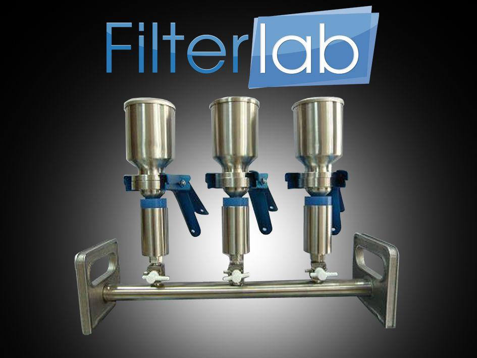 Manifold de Filtração em Aço Inox Com 1 ou 6 lugares e Copo com Capacidade para 300ml