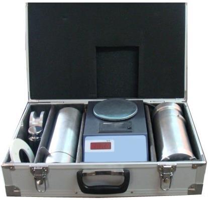 Medidor eletrônico de volume para grãos como trigo, arroz e milho. Modelo GHCS-1000