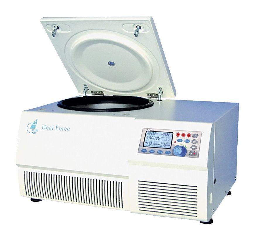 CENTRÍFUGA REFRIGERADA MICROPROCESSADA, 23.300 RPM (50377xg), FAIXA TEMPERATURA -20ºC A +40ºC, ACEITA ROTORES DE ÂNGULO FIXO, HORIZONTAL (SWING-OUT) E DE MICROPLACAS