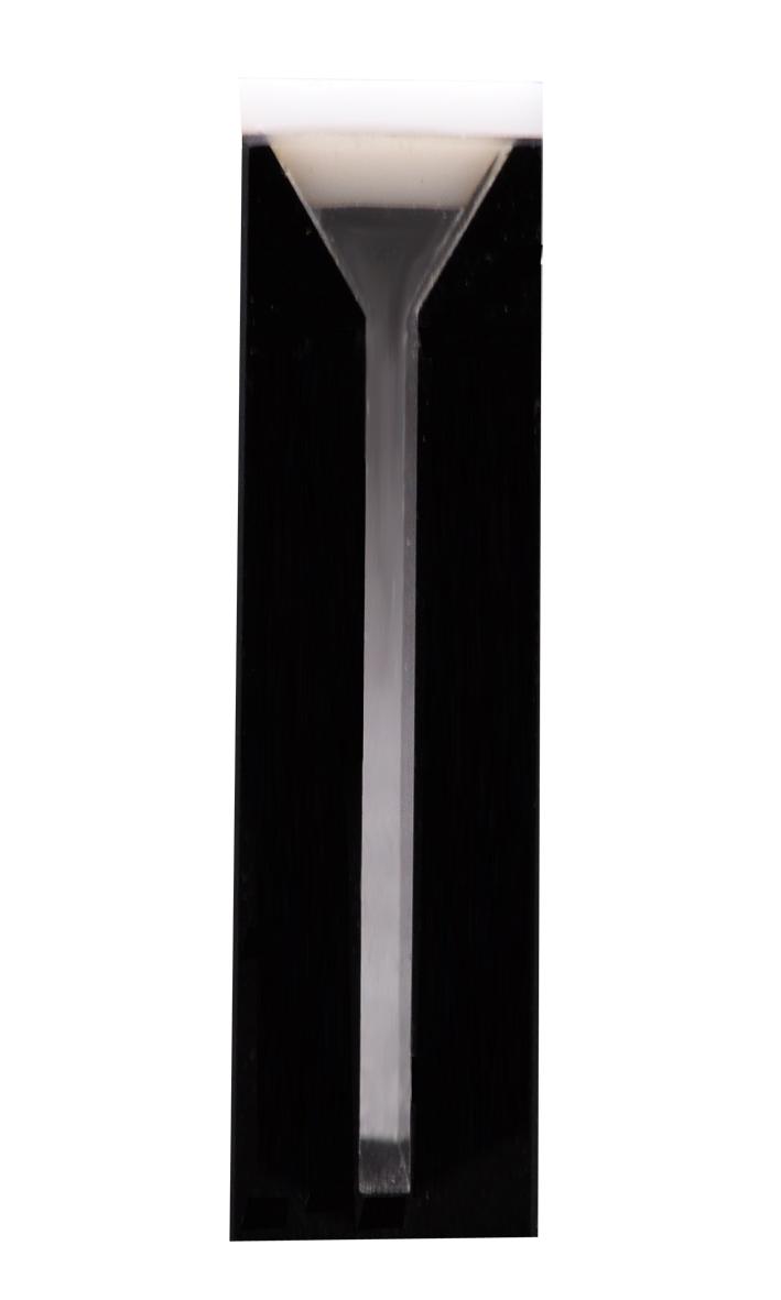 Microcubeta de Quartzo 0,7ml, Laterais Pretas