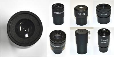 Oculares para uso em microscópios