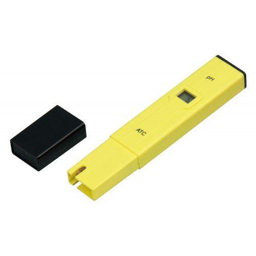 Phmetro Portátil 0-14, Compensação Autom. Temperatura (ATC), Tipo Caneta, C/Estojo - Modelo: PH108