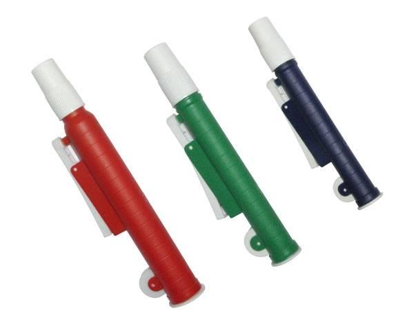 Pipetador tipo ?Pi-Pump?, Para trabalhos com volumes de 2ml, 10ml e 25ml ? Modelo: HS
