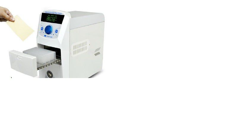 Seladora Térmica Semi-Automática de Filmes (Películas Plásticas) em Microplacas de PCR, ELISA, MICROTITULAÇÃO, Placas de Poço Profundo e Cultura de Tecidos. MODELO BIOPS-200