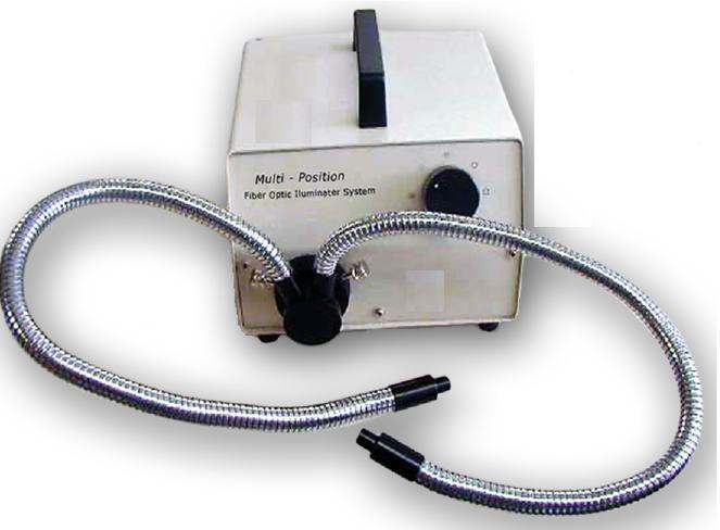 Sistema de Iluminação por fibra óptica, cabo ajustável e flexível bifurcado de 50cm, 220v ? Modelo: KX15962