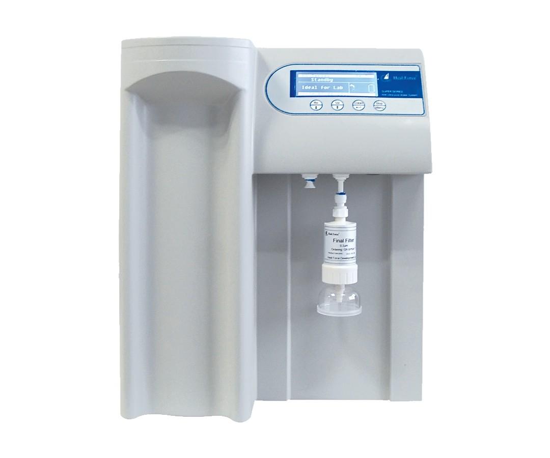 Sistema para Ultrapurificação (Tipo I) e Purificação de Água (Tipo II) Através de Duas Saídas Distintas, com Alimentação de Água Direto da Torneira, Vazão de Água de até 90L/h – Modelo: DIRECT ACQUA-Q