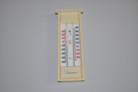 Termômetro de Máxima e Mínima, de mercúrio, Tipo Capela,TM-38CAP