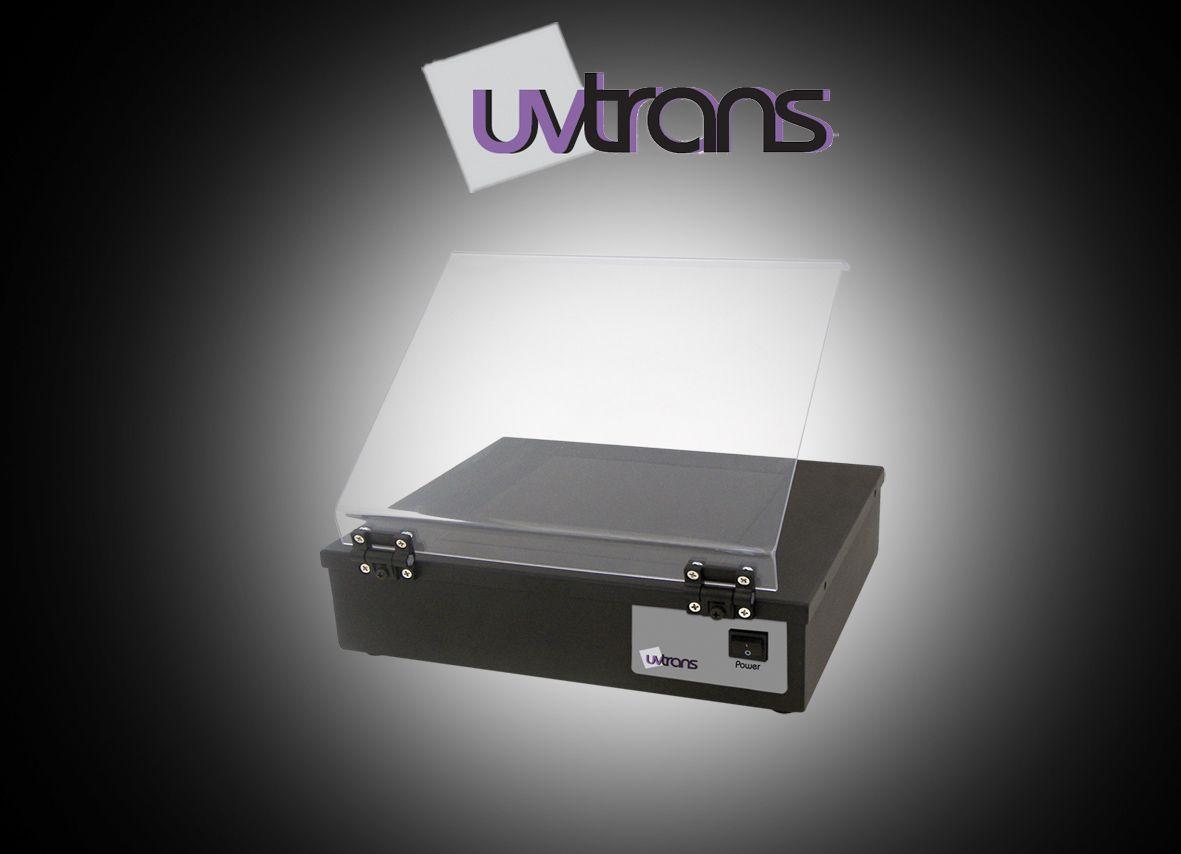 Transiluminador de Luz UV, intensidade de luz variável 312NM, 20 x 20 cm, tampa de proteção, 6 lâmpadas de 8W, 220Volts - Modelo: UVT-312
