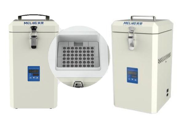 Ultra freezer portátil -80°c com capacidade para 1,8 litros, funciona em 220volts ou a bateria (12v) ? Modelo: DW ? HL 1.8T