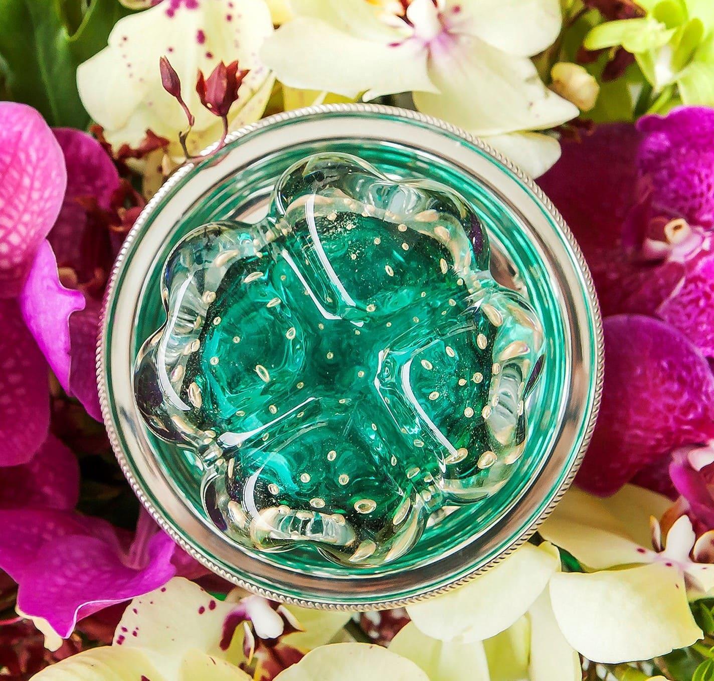Trevo - Verde Esmeralda - P